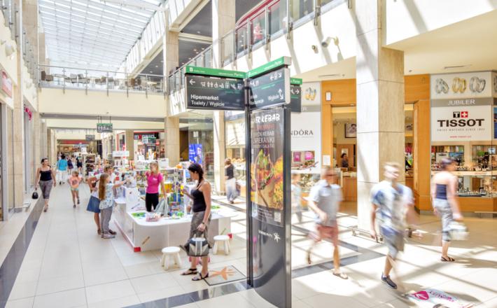 Polacy gubią kilogramy w galeriach