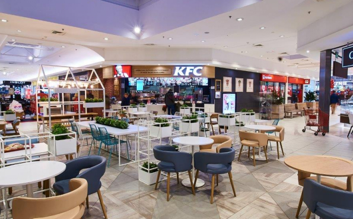 Food court w centrum