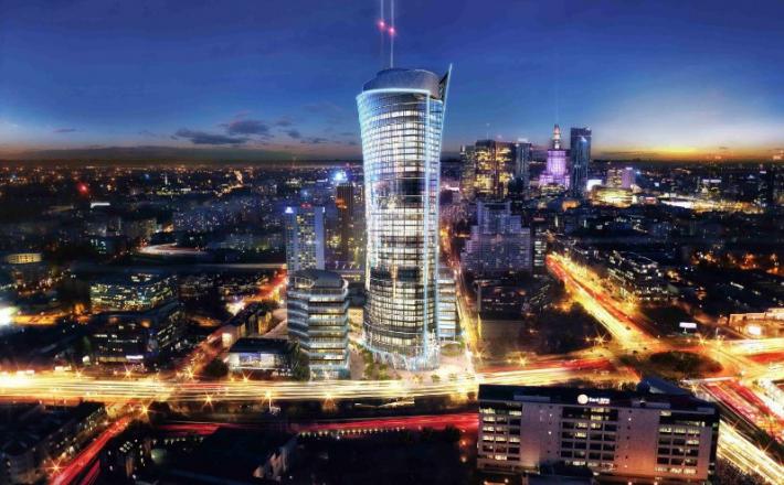 Warszawa w budowie