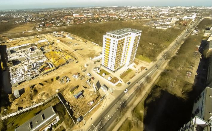 Galeriowy plac budowy
