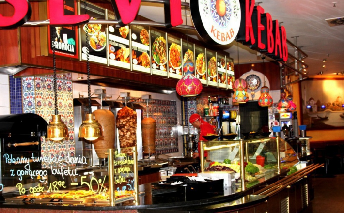 Kebab tylko w galerii