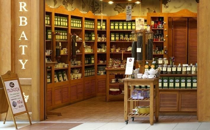 Lokal pachnący herbatą