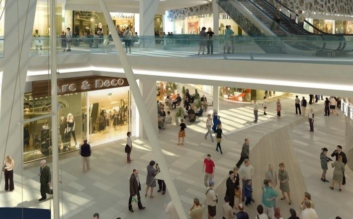 Centra handlowe dają pracę