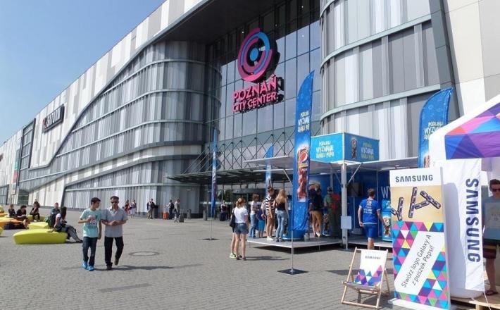 Poznań galeriami stoi